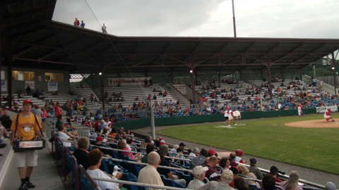 Bowman Field is the second-oldest Minor League park operating in the U.S.