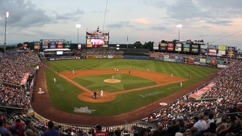 Coca-Cola Park provided big league scope with the Minor Leagues' heart.