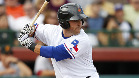 Mike Olt had three extra-base hits in 17 Spring Training games.