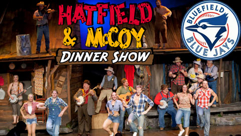 The Hatfield & McCoy Dinner Show will be at Bowen Field on July 17.