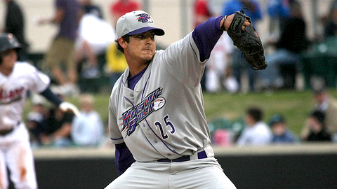 Andre Rienzo is 3-0 with a 1.08 ERA for Winston-Salem this year.
