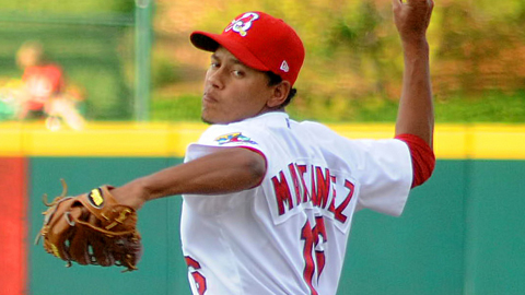 Carlos Martinez has allowed two runs in his last two starts.
