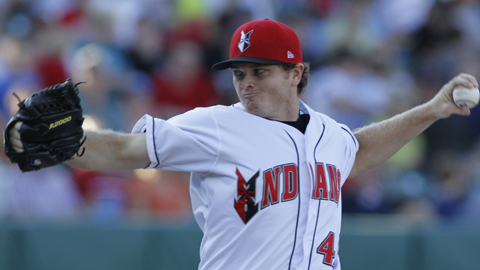 Justin Wilson is second in the International League with 126 strikeouts this year.