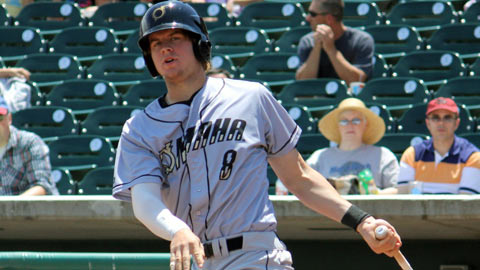 Wil Myers was second in the Minors with 37 homers, 29 more than he hit in 2011.